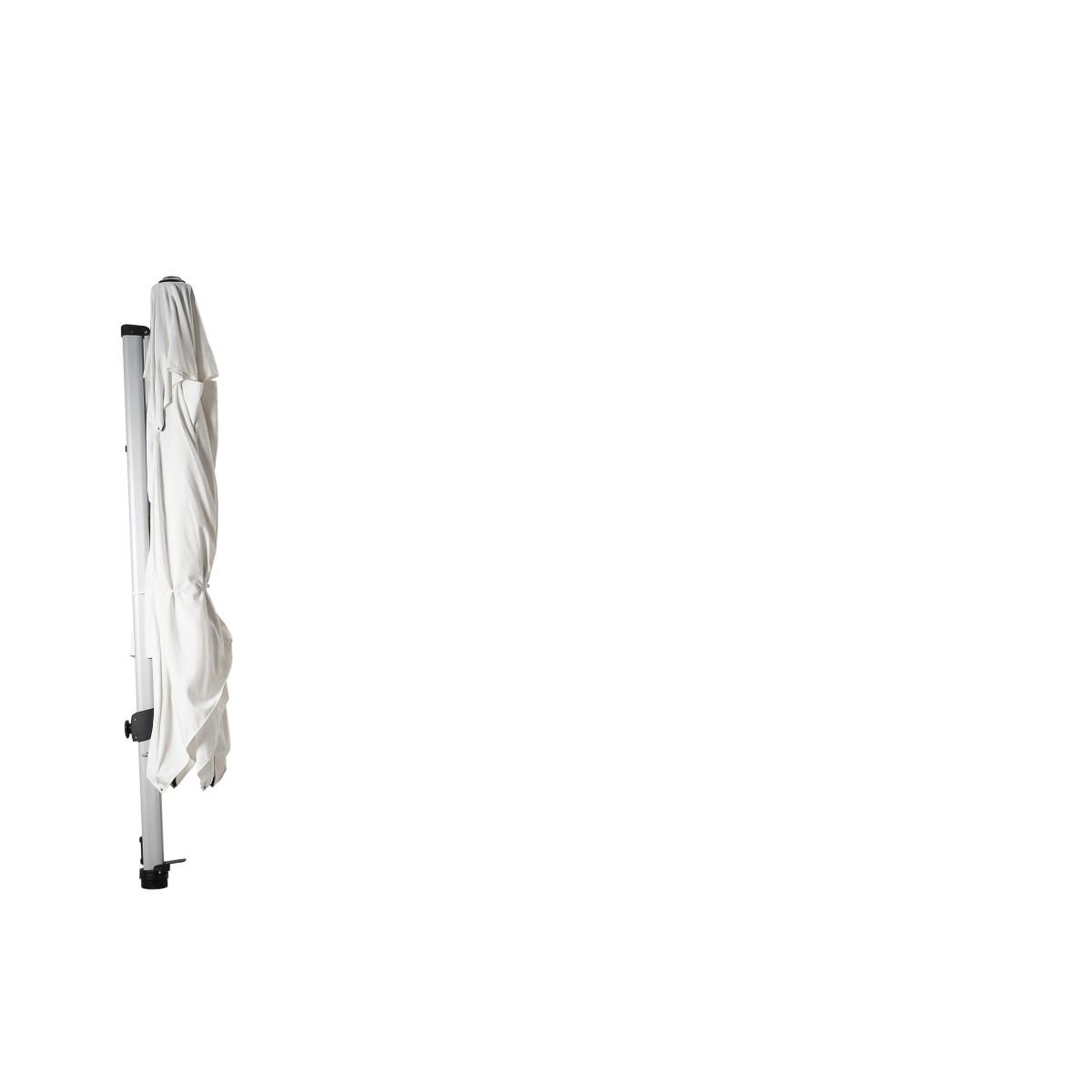 Fratello Pro 2.0 cantilever parasol Pearl White (300*300cm ...