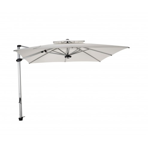Laterna cantilever parasol 300*300cm. natural
