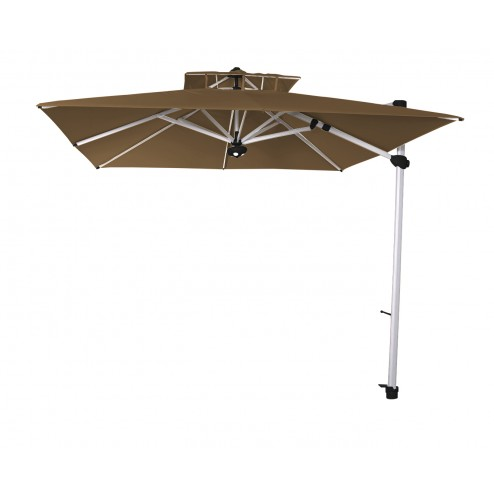 Laterna cantilever parasol 300*300cm. taupe