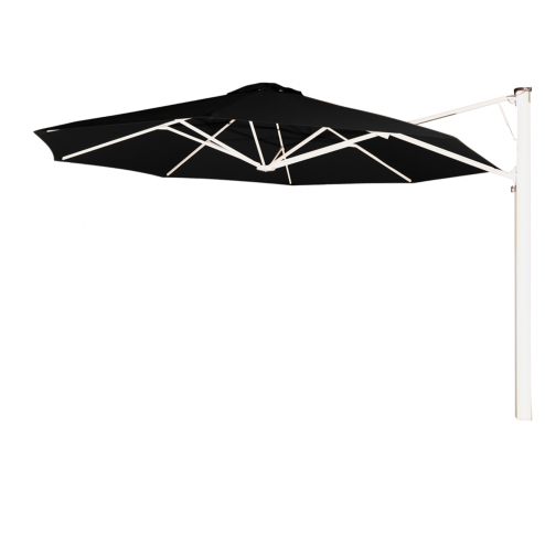 Prostor P7 wall parasol diam. 350cm. black widow