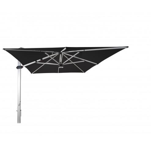 Palestro zweefparasol 400*400cm. zwart