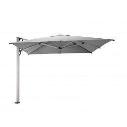 Fuerto Pro cantilever parasol Platinum Grey (300*300cm)