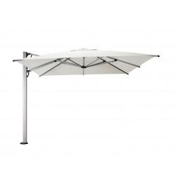 Fuerto Pro cantilever parasol Pearl White (300*300cm)