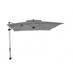 Laterna Pro cantilever parasol Platinum Grey (300*300cm)