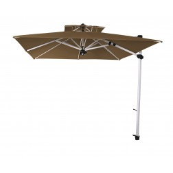 Laterna Pro cantilever parasol Taupe (300*300cm)