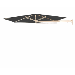 P4 wall parasol Carbon Grey (ø270cm)