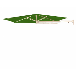 P4 wall parasol Leaf Green (ø270cm)