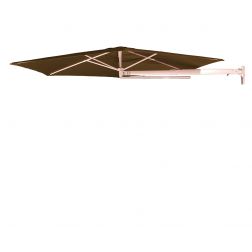 P4 wall parasol Taupe (ø270cm)