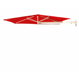 P4 wall parasol Traffic Red (ø270cm)