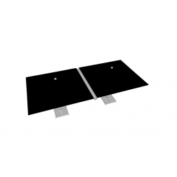 Raingutter PVC 330cm Grey