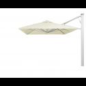 Prostor P7 wall parasol 300*300cm white sand
